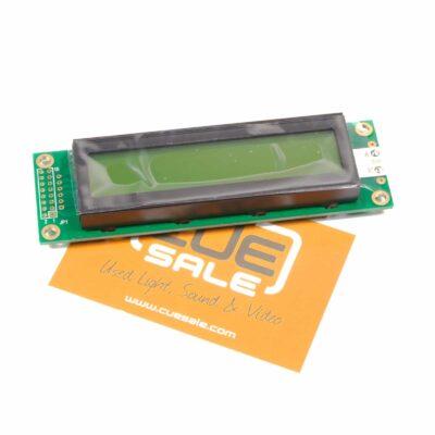 Robert Juliat - Display pcb for CAD900 control module (front)