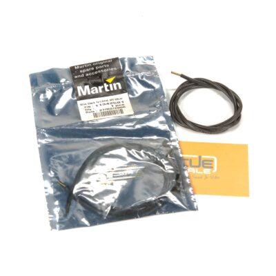 Martin - Wire BLACK 1x1,5# ul siff 68cm