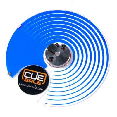 Martin - Cyan wheel MAC250 wash